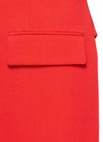 Wool grain de poudre vest