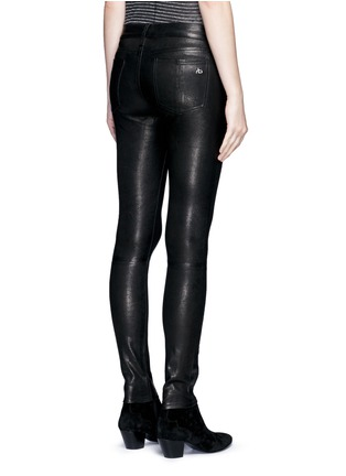 Back View - Click To Enlarge - rag & bone/JEAN - 'Skinny' stretch lambskin leather pants