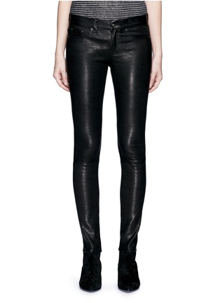 Main View - Click To Enlarge - rag & bone/JEAN - 'Skinny' stretch lambskin leather pants