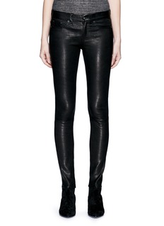 rag & bone/JEAN 'Skinny' stretch lambskin leather pants