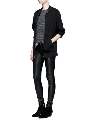 Figure View - Click To Enlarge - rag & bone/JEAN - 'Skinny' stretch lambskin leather pants