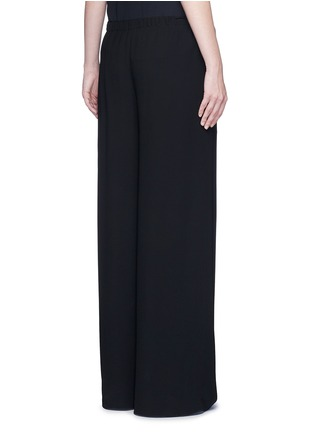 Back View - Click To Enlarge - The Row - 'Lene' wide leg crepe pants