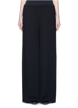 Main View - Click To Enlarge - The Row - 'Lene' wide leg crepe pants