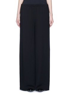 The Row 'Lene' wide leg crepe pants
