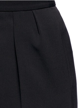 Detail View - Click To Enlarge - Stella McCartney - Tailored dry wool wide leg trousers