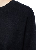 3/4 sleeve cashmere sweater
