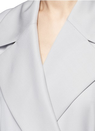 Detail View - Click To Enlarge - The Row - 'Swells' belted gabardine coat