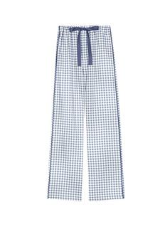Araks'Ally' gingham check organic cotton pyjama pants
