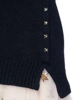 'Rockstud Untitled' cashmere sweater