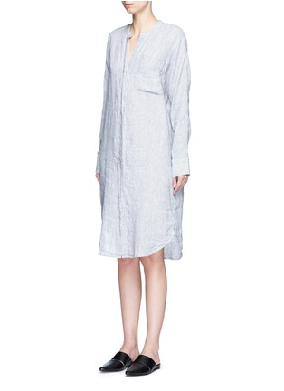 James Perse - Stripe dolman linen shirt dress