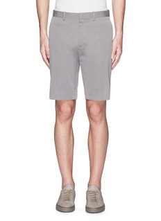 Theory'Beck' stripe cotton blend shorts