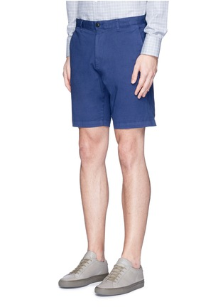 Front View - Click To Enlarge - Theory - 'Zaine S' garment dyed slim fit shorts