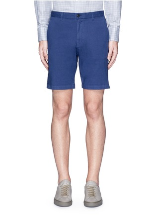 Main View - Click To Enlarge - Theory - 'Zaine S' garment dyed slim fit shorts