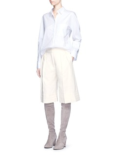 Victor AlfaroRamie-cotton culottes