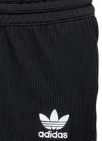 Drawstring jacquard running shorts