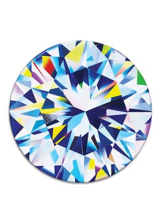 Main View - Click To Enlarge - TAKERU AMANO - Diamond B acrylic painting