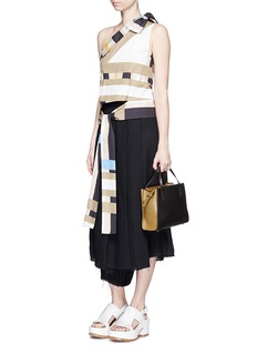 MARNI'9TO5 Shopping Bag' leather shoulder tote