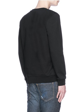 Back View - Click To Enlarge - McQ Alexander McQueen - Photo patch logo print sweatshirt