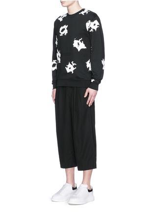 McQ Alexander McQueen-Floral print sweatshirt