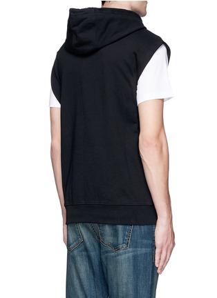 背面 - 点击放大 - MCQ ALEXANDER MCQUEEN - 品牌标志连帽无袖外套