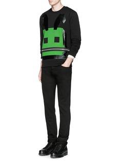 MCQ ALEXANDER MCQUEEN'3D Bunny' print sweatshirt