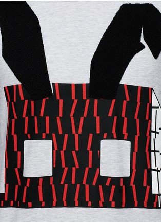 Detail View - Click To Enlarge - McQ Alexander McQueen - Angry bunny print sweatshirt