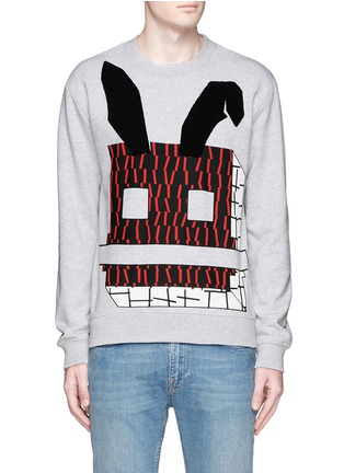 Main View - Click To Enlarge - McQ Alexander McQueen - Angry bunny print sweatshirt