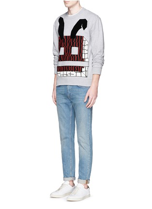 Figure View - Click To Enlarge - McQ Alexander McQueen - Angry bunny print sweatshirt
