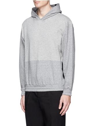 McQ Alexander McQueen-Tape print oversize hoodie