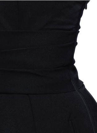 Detail View - Click To Enlarge - PREEN BY THORNTON BREGAZZI - 'Athena' one shoulder pleat dress