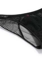 'Gia' stretch mesh tulle mini briefs