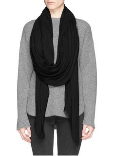 FALIERO SARTI'Azzurra' modal-cashmere blend scarf