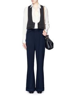 CHLOÉPeter Pan collar silk blouse