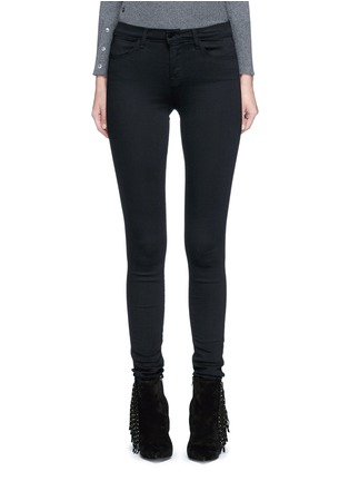 Main View - Click To Enlarge - J Brand - 'Seriously Black Super Skinny' jeans