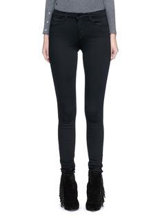 J Brand'Seriously Black Super Skinny' jeans