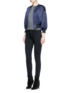 J Brand 'Seriously Black Super Skinny' jeans