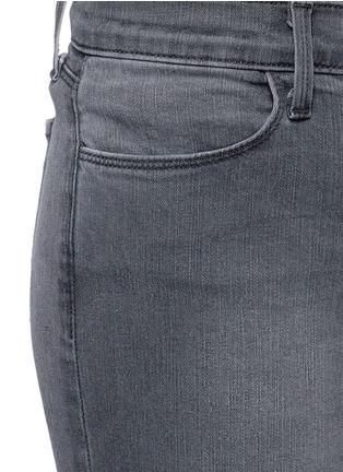 细节 - 点击放大 - J BRAND - SUPER SKINNY弹性丹宁裤