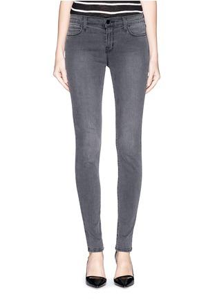 首图 - 点击放大 - J BRAND - SUPER SKINNY弹性丹宁裤