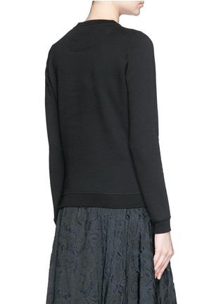 Back View - Click To Enlarge - KENZO - Beaded eye embroidery sweatshirt