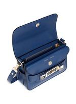 'PS11' mini saffiano leather satchel