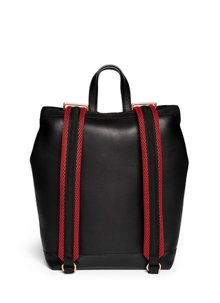 Marni-'Parachute' large leather backpack