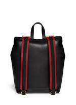 'Parachute' large leather backpack