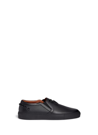 Givenchy - Pyramid stud leather skate slip-ons