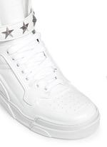 'Tyson' star stud high top sneakers