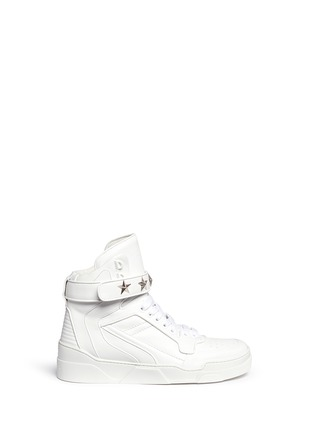 首图 - 点击放大 - GIVENCHY - 'Tyson' star stud high top sneakers