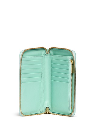 Figure View - Click To Enlarge - Tory Burch - 'Robinson' mini zip continental wallet