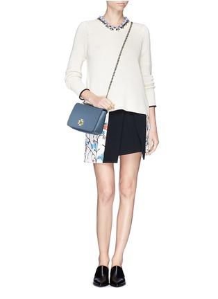 Figure View - Click To Enlarge - Tory Burch - 'Mercer' chain strap shoulder bag