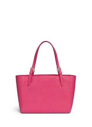 Back View - Click To Enlarge - Tory Burch - 'York' small buckle saffiano leather tote