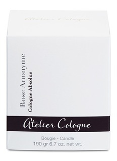 Atelier Cologne Rose Anonyme Candle 190g