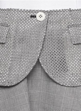 Detail View - Click To Enlarge - Sacai - Plaid flare skirt